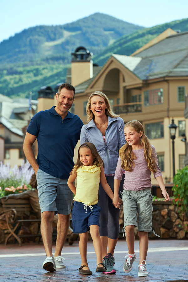 Summer in beaver creek village